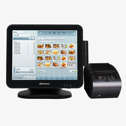 Windows POS Terminal with Card Reader & Receipt Printer
