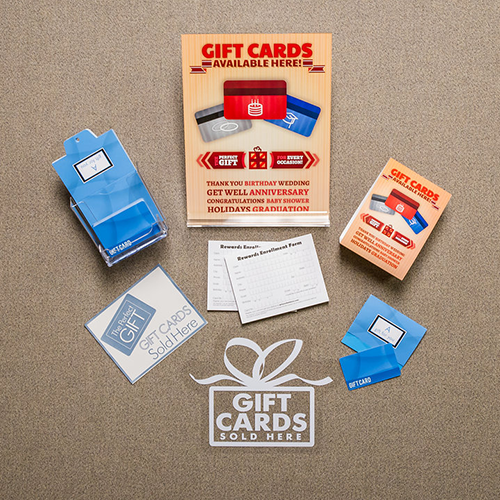 Custom Gift Cards Kit