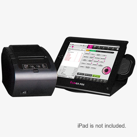 9.7-inch Enclosure, Card Reader & Receipt Printer (No iPad)