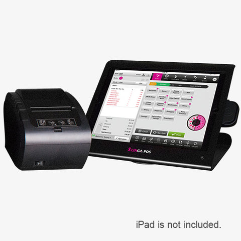 12.9-inch Enclosure, eDynamo Reader & Receipt Printer (no iPad)