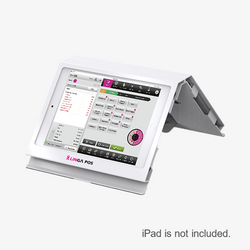 Stylish Counter Enclosure with Rear Display for 9.7-inch iPad (requires additional iPad)
