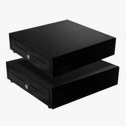 Dual Cash Drawer - Black