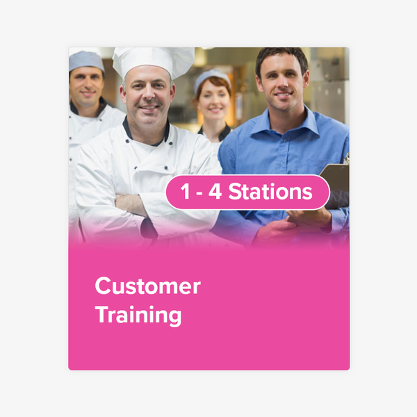 Customer Training (1 to 4 Stations)