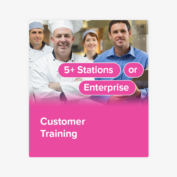 Customer Training (5+ Stations or Enterprise)