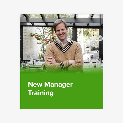 New Manager Training
