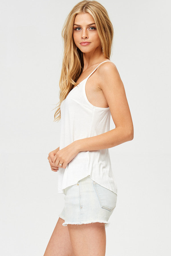Basic Solid Tank Top