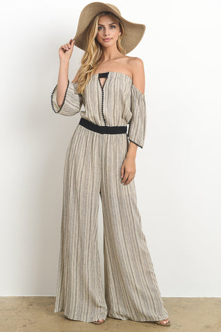 Plaid Jumpsuit With Pockets