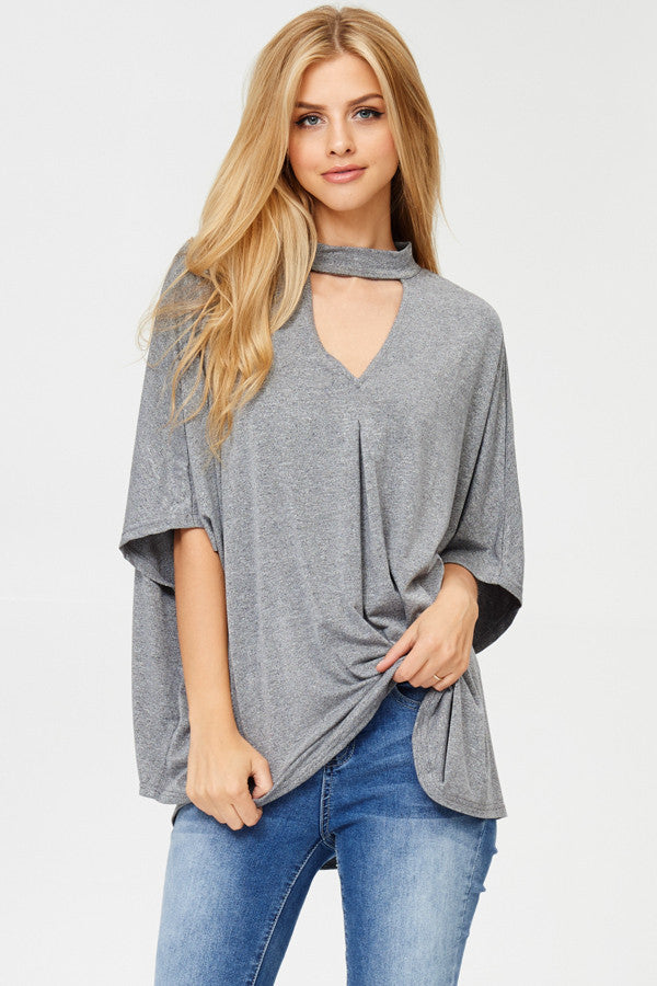 Plus Sized Tunic Top