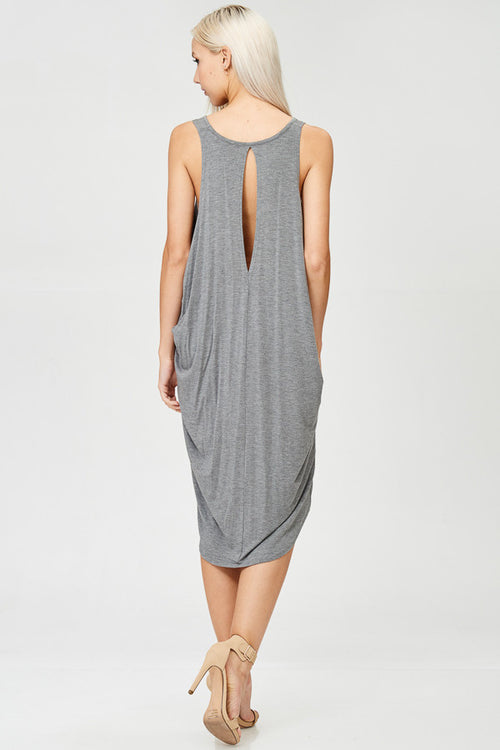 Solid Seamless Tank Dress