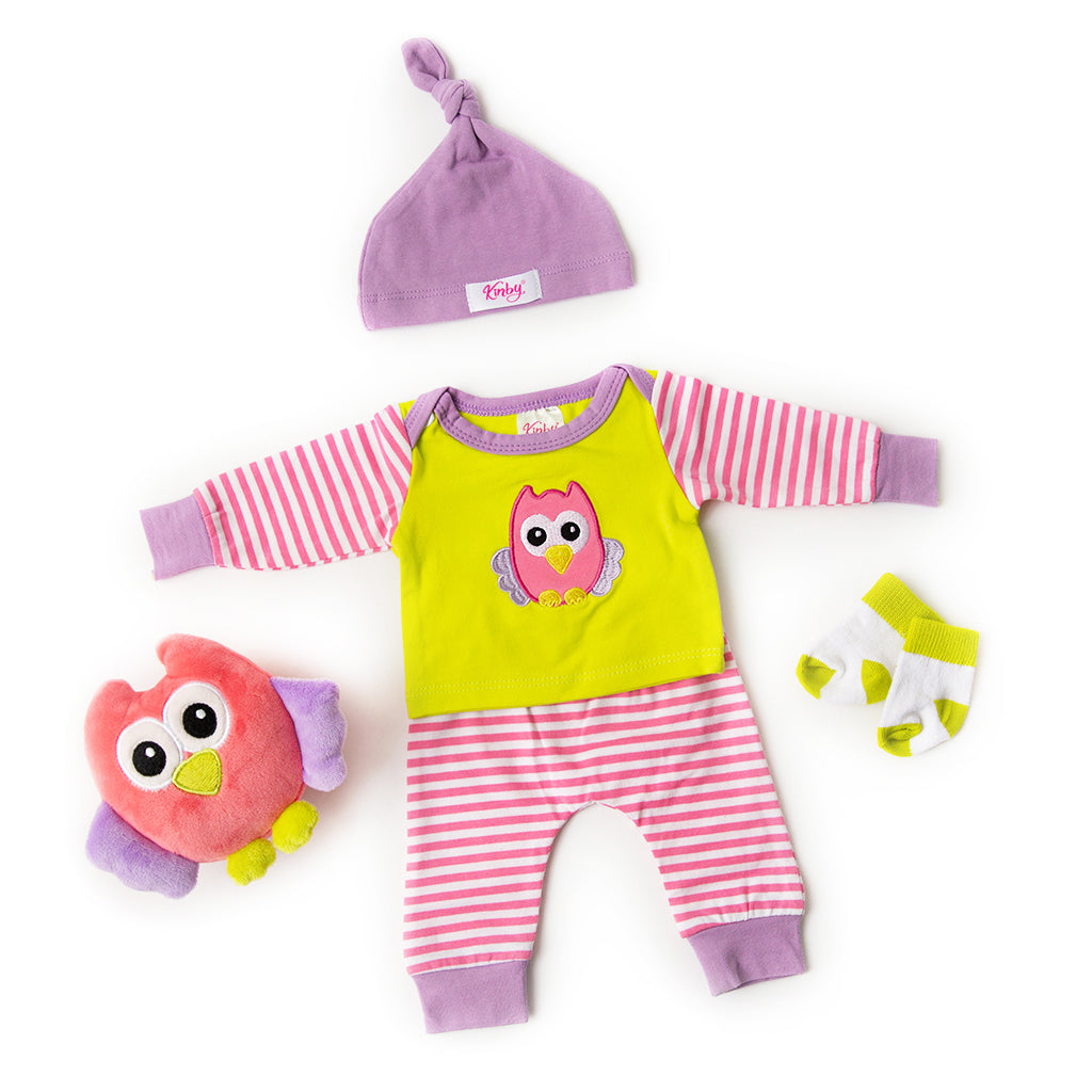 Olivia the Owl - Sleep and Play Set
