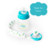Magnetic Blue Baby Pacifier & Bottle Set for Grace
