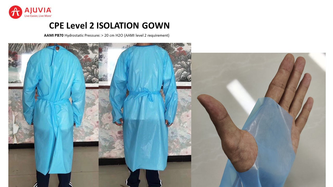 AAMI PB70 Level 2 Gown (CPE)