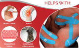 Ajuvia™ Advanced Professional Kinesiology Tape with German Adhesive Technology - rt