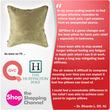Qi Orthopedic Pillow™ - Professional Home Lumbar Back Posture Pain Support Relief