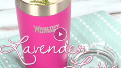 Lavender & Basil Green Tea