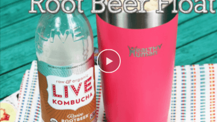 Kombucha Root Beer Float