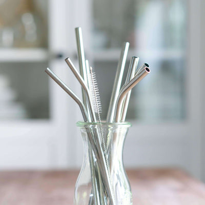top-rated stainless steel straws. Fits perfectly in 20oz Cruiser Tumblers. 100% BPA-free and dishwasher safe.