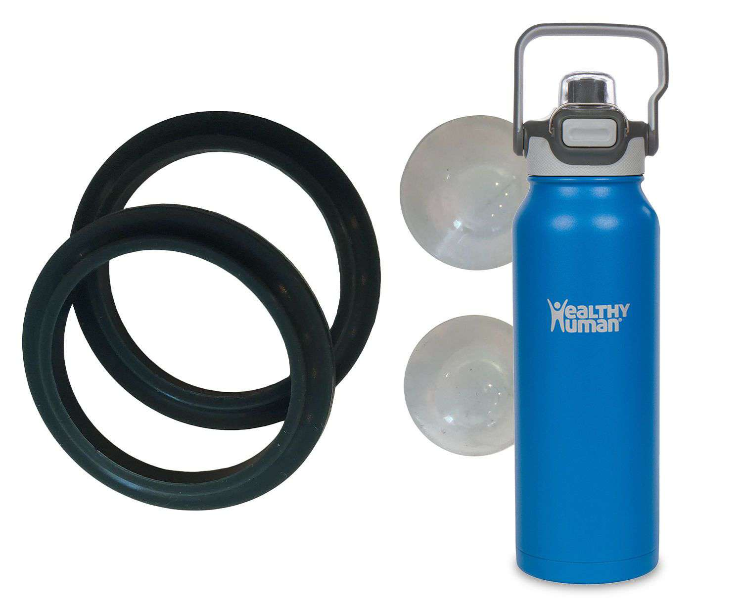 1 Stoppers//Fastening Set Replacement Isybe quickly Drinking Cap with Gasket