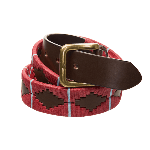 PARACHUTE REGIMENT LEATHER POLO BELT