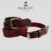 LEATHER DOG COLLAR ROYAL ENGINEERS (SAPPER)