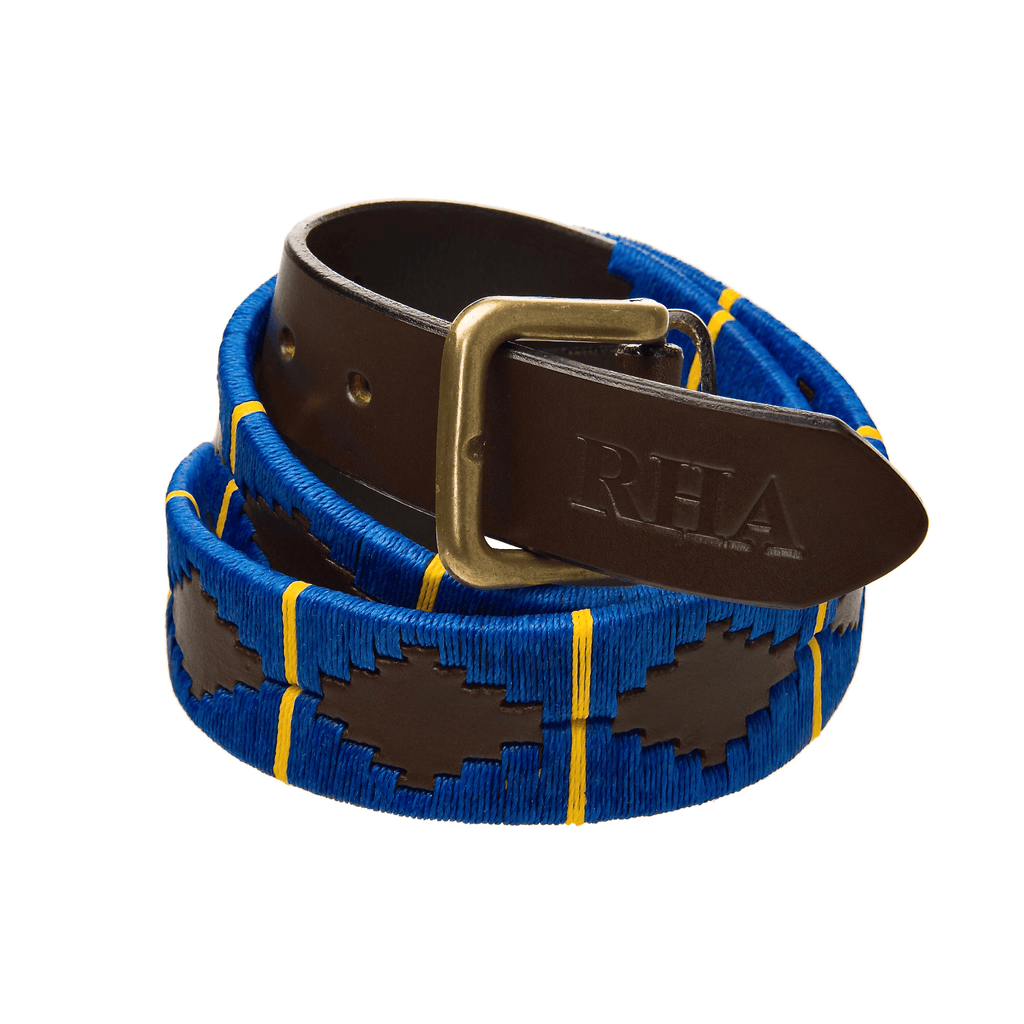 Royal Horse Artillery Belt leather polo RHA Darley