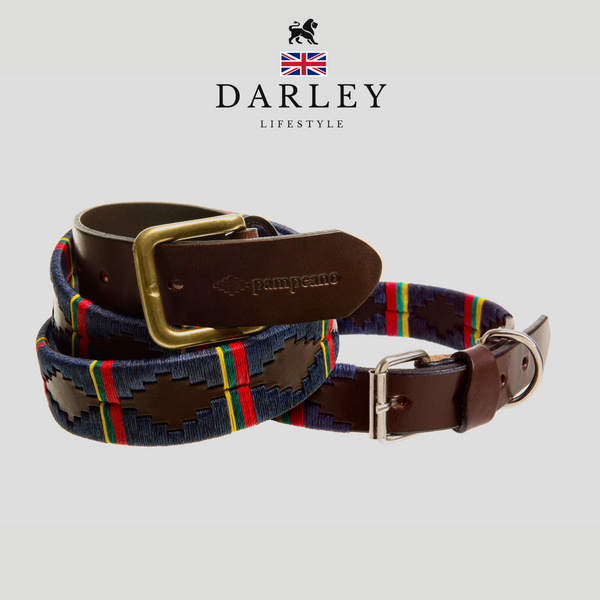 Royal Marine Commando Belt leather polo Darley