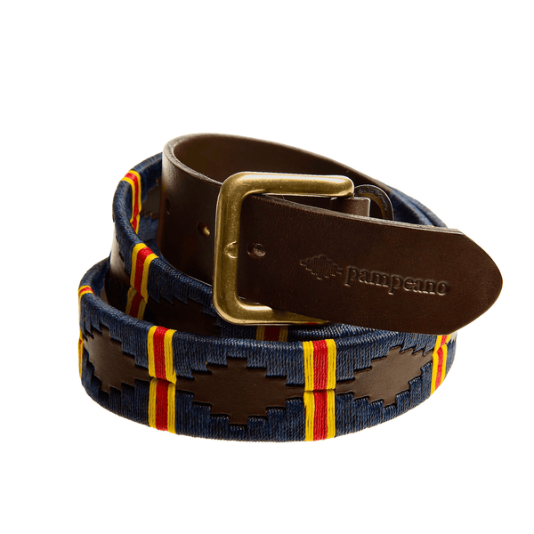 ROYAL MILITARY ACADEMY SANDHURST LEATHER POLO BELT