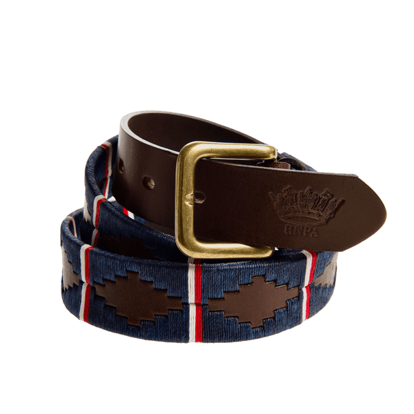 ROYAL NAVY POLO ASSOCIATION LEATHER POLO BELT