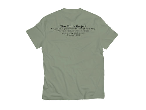 Warrior T-Shirt (Psalms 18:39)