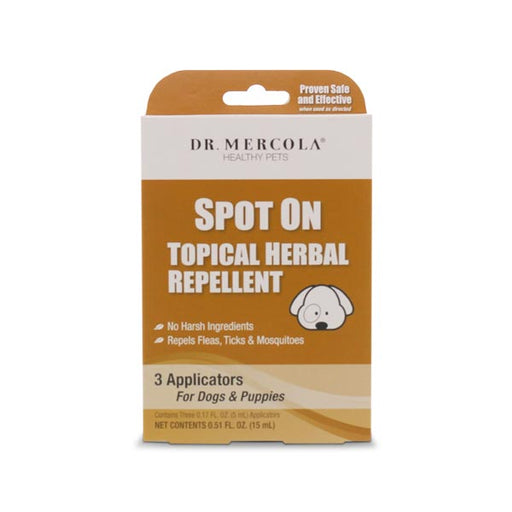 Dr Mercola Spot On Topical Herbal Repellent for Dogs & Puppies