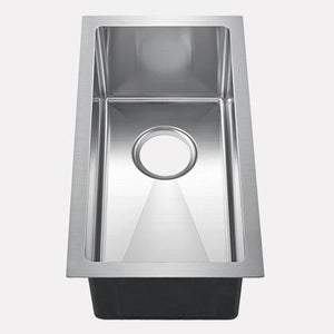 "11"" Kuna Stainless Steel Narrow Single-Bowl Undermount Sink"