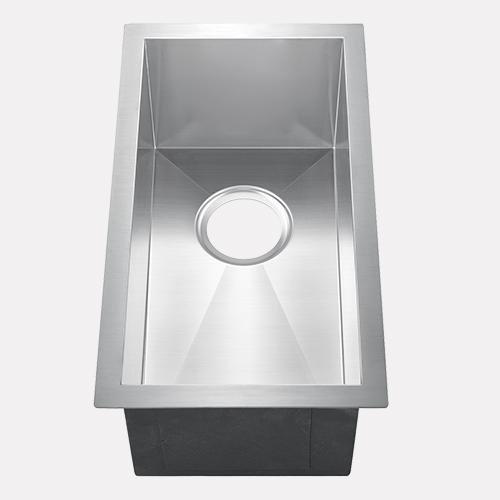 "11"" Westma Stainless Steel Narrow Single-Bowl Undermount Sink"