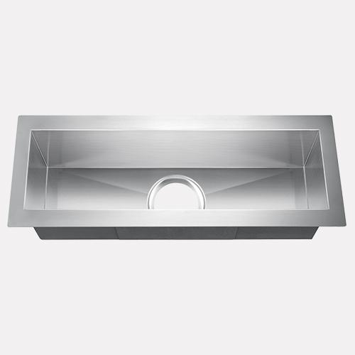 "23"" Durkee Stainless Steel Single-Bowl Undermount Sink"