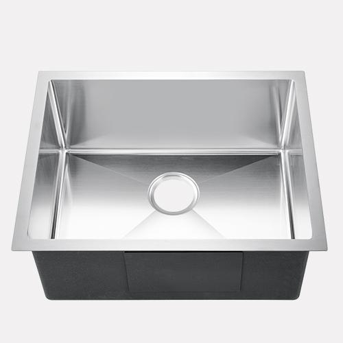 "23"" Midvale Stainless Steel Single-Bowl Undermount Sink"