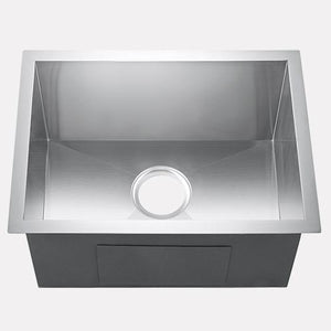 "23"" Oreana Stainless Steel Single-Bowl Undermount Sink"