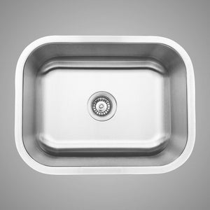 "23"" Stanstead Stainless Steel Single-Bowl Undermount Sink"