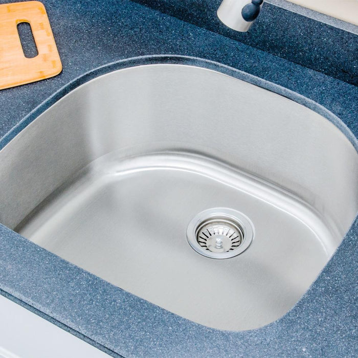 "24"" Newry Stainless Steel Single-Bowl Undermount Sink"
