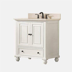 "30"" Bosler Vanity for Oval Undermount Sink"