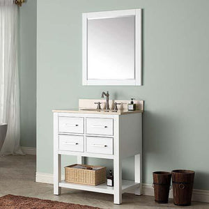 "30"" Brockton Vanity for Oval Undermount Sink"