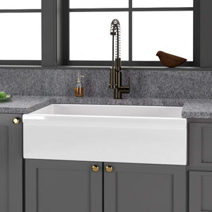 "30"" Calverton Fireclay Single-Bowl Farmhouse Sink"