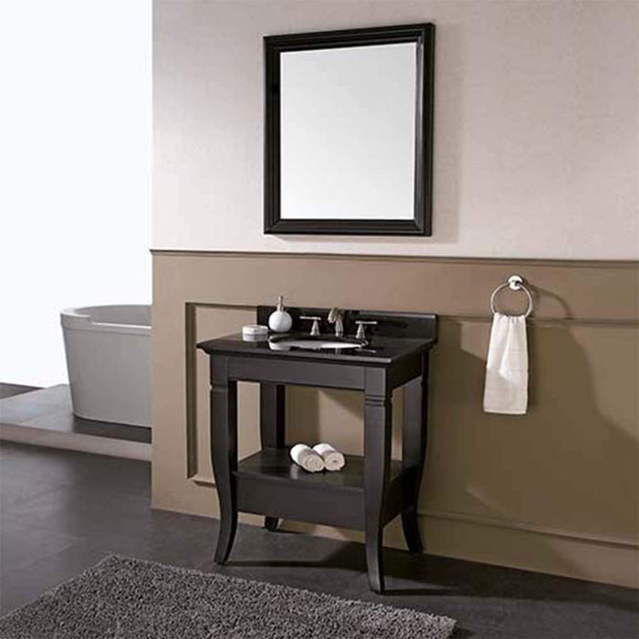 "30"" Cheney Vanity for Rectangular Undermount Sink - Light Charcoal"