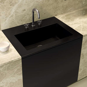 "30"" Florence Fireclay Single-Bowl Kitchen Sink - Matte Black"
