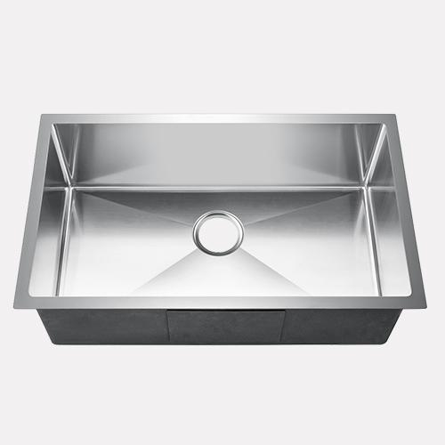 "30"" Mora Stainless Steel Single-Bowl Undermount Sink"