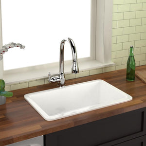 "30"" Muskego Fireclay Single-Bowl Kitchen Sink"