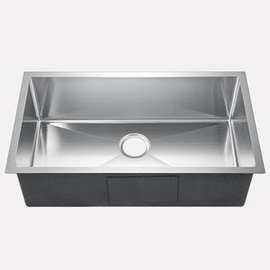 "32"" Notus Stainless Steel Single-Bowl Undermount Sink"
