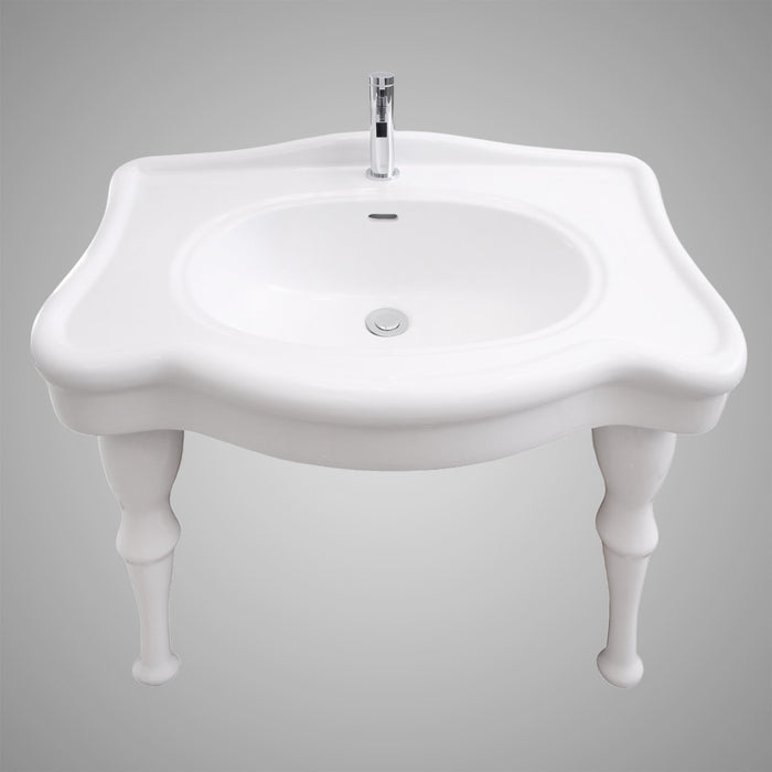 "32"" Plover Vitreous China Console Sink"