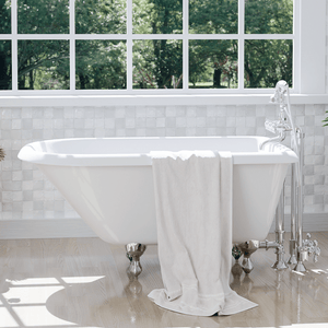 "48"" Hearne Cast Iron Roll-Top Clawfoot Tub"