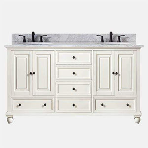 "60"" Bosler Double Vanity for Oval Undermount Sinks"