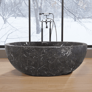 "67"" Sturgeon Marble Double-Ended Tub"