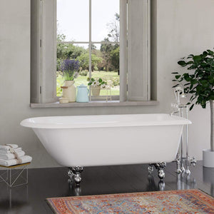 "68"" Giddings Cast Iron  Roll-Top Clawfoot Tub"